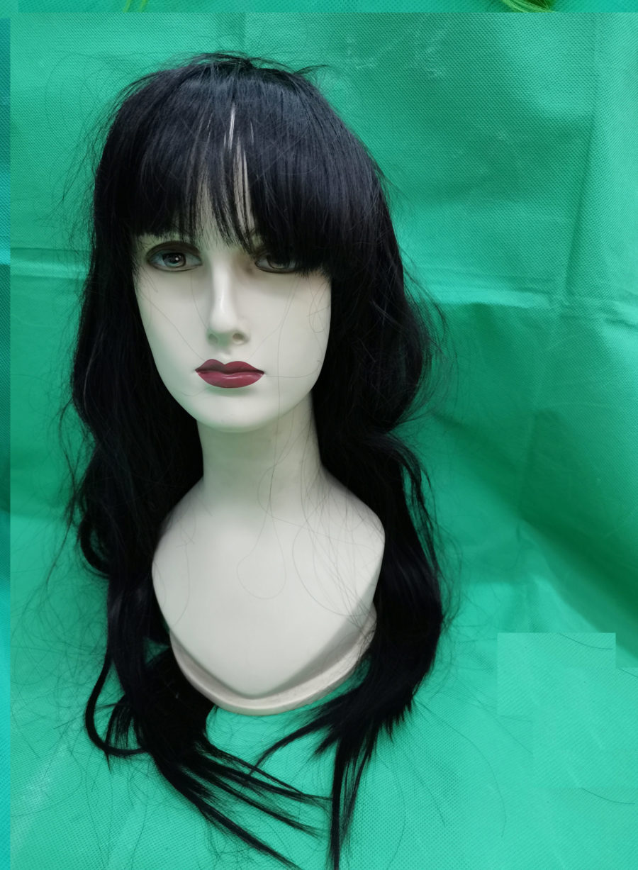 Long mixed wigs