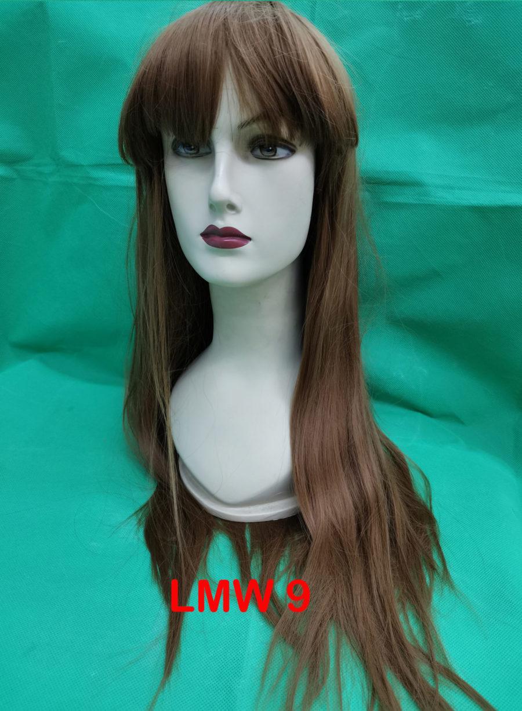 Long mixed wigs