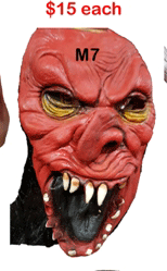 halloween horror mask