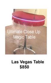 las vegas table