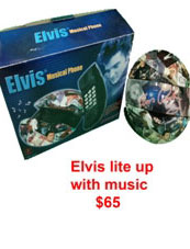 elvis lite up with music