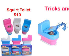 squirt toilet