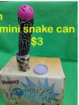 mini snake can