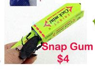 snap gum