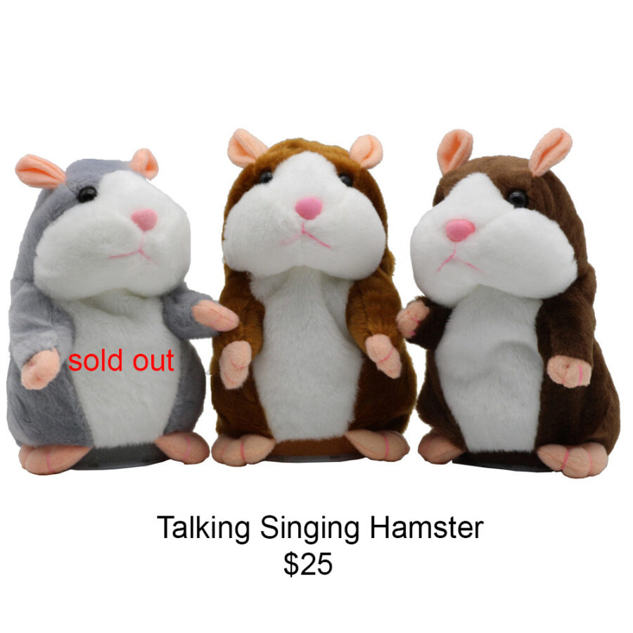 Talking singing Hamster