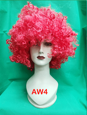 Short colored and Afro wigs