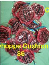 whoppe cushino